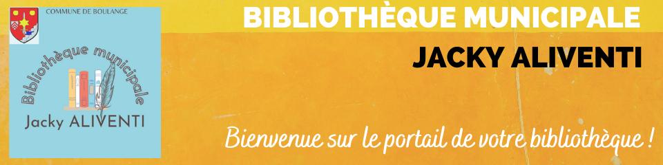 """Bibliothèque municipale """"Le Forum / Jacky Aliventi"""" - Boulange"""